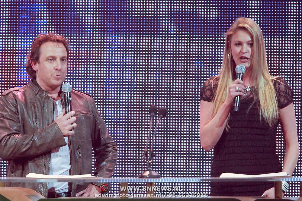 NLD/Amsterdam/20110414 - Uitreiking 3FM Awards 2011, marco Borsato en Annemiek Schollaardt