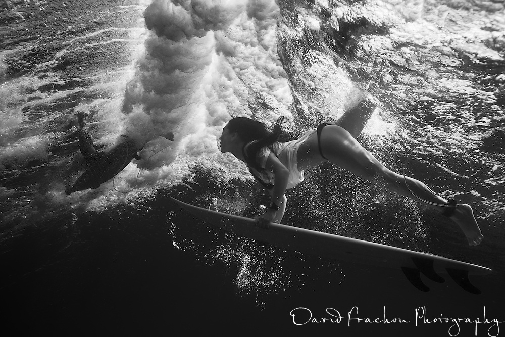 after a while trying to get good surfing shot above the water, surf went crap and i decided to have vision from under.<br />