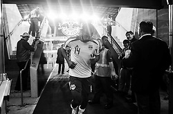 HARRISON, NJ - MAY 08: Thierry Henry #14 of New York Red Bulls walks off the field after defeating the Montreal Impact at Red Bulls Arena on May 8, 2013. (Photo By: Rob Tringali)