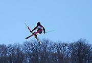 PYEONGCHANG-GUN, SOUTH KOREA - FEBRUARY 17: Lana Prusakova of Olympics Athletes of Russia during the Womens Slopestyle Freestyle Skiing on day eight of the PyeongChang 2018 Winter Olympic Games at Phoenix Snow Park on February 17, 2018 in Pyeongchang-gun, South Korea. Photo by Nils Petter Nilsson/Ombrello               ***BETALBILD***