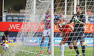 Picture by David Horn/Focus Images Ltd +44 7545 970036<br /> 23/07/2013<br /> Jon Shaw of Luton Town scores the opening goal during the Pre Season Friendly match at Kenilworth Road, Luton.