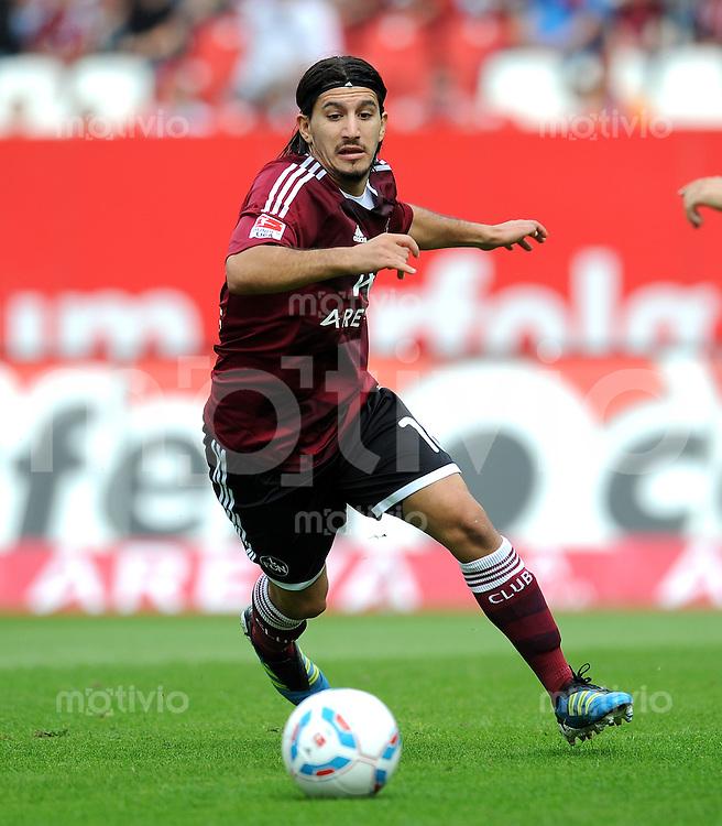 FUSSBALL   1. BUNDESLIGA  SAISON 2011/2012   2. Spieltag 1 FC Nuernberg - Hannover 96          13.08.2011 Almong Cohen (1 FC Nuernberg)