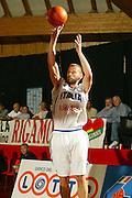 BORMIO, GIUGNO 2004<br /> AMICHEVOLI PRE OLIMPIADI ATENE 2004<br /> NELLA FOTO: FABIO MIAN<br /> FOTO CIAMILLO