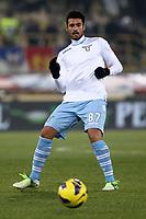 """Antonio Candreva Lazio.Bologna 10/12/2012 Stadio """"Dall'Ara"""".Football Calcio Serie A 2012/13.Bologna v Lazio.Foto Insidefoto Paolo Nucci."""