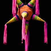 Piñata hanging. Cozumel, Q.Roo.Mexico.