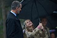 032720 King Felipe and Crown Princess Leonor