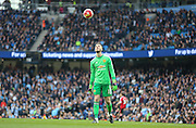 David De Gea of Manchester United during the Barclays Premier League match between Manchester City and Manchester United at the Etihad Stadium, Manchester, England on 20 March 2016. Photo by Phil Duncan.