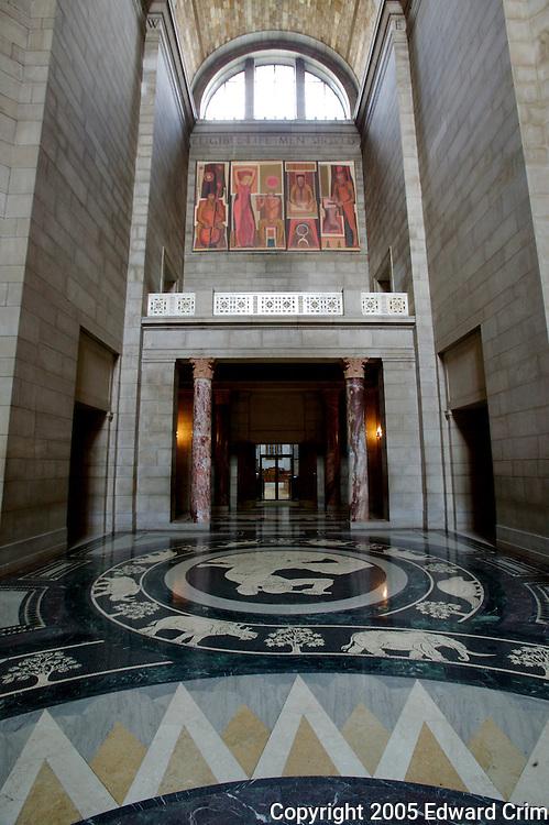 Nebraska State Capitol - rotunda