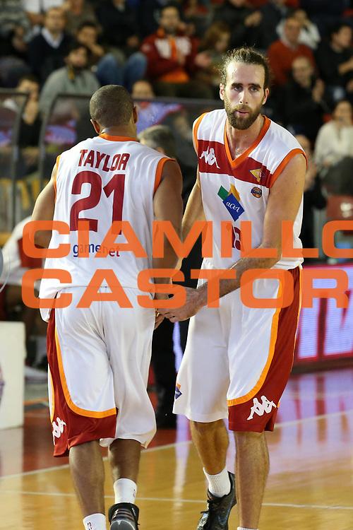 DESCRIZIONE : Roma Lega A 2012-13 Acea Virtus Roma Cimberio Varese<br /> GIOCATORE : Luigi Datome Jordan Taylor<br /> CATEGORIA : cambio<br /> SQUADRA : Acea Virtus Roma<br /> EVENTO : Campionato Lega A 2012-2013 <br /> GARA : Acea Virtus Roma Cimberio Varese<br /> DATA : 02/12/2012<br /> SPORT : Pallacanestro <br /> AUTORE : Agenzia Ciamillo-Castoria/ElioCastoria<br /> Galleria : Lega Basket A 2012-2013  <br /> Fotonotizia : Roma Lega A 2012-13 Acea Virtus Roma Cimberio Varese<br /> Predefinita :