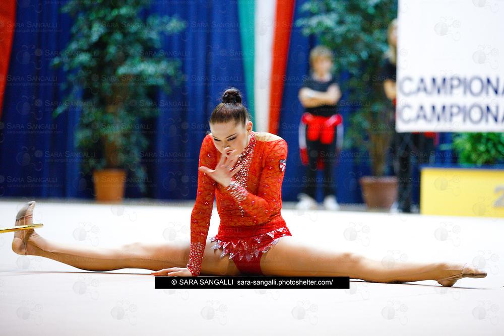 Virtus Gallarate Alina Maksymenko , rhythmic gymnast