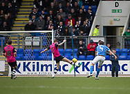 St Johnstone&rsquo;s Blair Alston doubles his side's lead - St Johnstone v Dundee in the Ladbrokes Scottish Premiership at McDiarmid Park, Perth: Picture &copy; David Young<br /> <br />  - &copy; David Young - www.davidyoungphoto.co.uk - email: davidyoungphoto@gmail.com