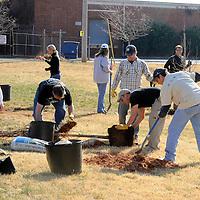 Southside Community Planting 12 01 12