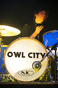 Photos of Adam Young - AKA Owl City - performing at the Pageant in St. Louis on the closing concert of their five-month tour. May 5, 2010.