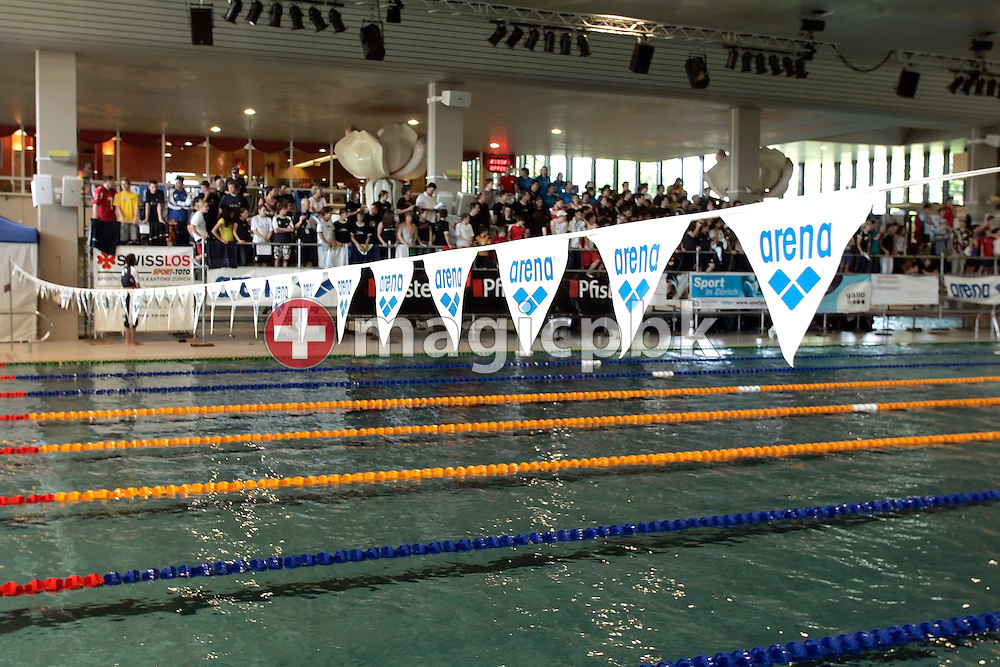 An overview during the final session in the Hallenbad Oerlikon at the Swimming Swiss Championships in Zurich, Switzerland, Saturday 12 May 2007. (Photo by Patrick B. Kraemer / MAGICPBK)