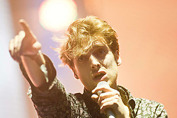 Paolo Nutini headlines the last night on the main stage..Rockness, Sunday, 12th June 2011..RockNess 2011, the annual music festival which takes place in Scotland at Clune Farm, Dores, on the banks of Loch Ness near Inverness..Pic ©2011 Michael Schofield. All Rights Reserved..