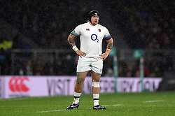 Harry Williams of England - Mandatory byline: Patrick Khachfe/JMP - 07966 386802 - 18/11/2017 - RUGBY UNION - Twickenham Stadium - London, England - England v Australia - Old Mutual Wealth Series International