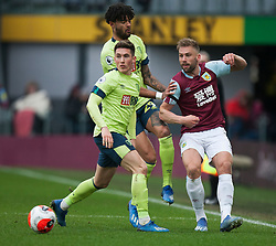Charlie Taylor of Burnley (L) and Harry Wilson of Bournemouth in action - Mandatory by-line: Jack Phillips/JMP - 22/02/2020 - FOOTBALL - Turf Moor - Burnley, England - Burnley v Bournemouth - English Premier League