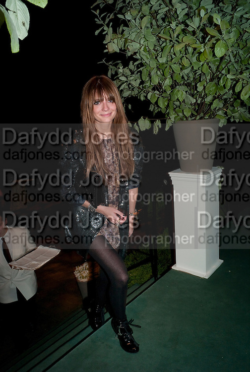 MISCHA BARTON, The Ormeley dinner in aid of the Ecology Trust and the Aspinall Foundation. Ormeley Lodge. Richmond. London. 29 April 2009
