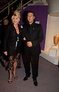 Ivana Trump and Rossano Rubicondi. The Grosvenor House Art and Antiques Fair charity Gala evening in aid of the NSPCC. 16 June2005. ONE TIME USE ONLY - DO NOT ARCHIVE  © Copyright Photograph by Dafydd Jones 66 Stockwell Park Rd. London SW9 0DA Tel 020 7733 0108 www.dafjones.com