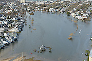 11/1/12 - Aftermath of  Hurricane Sandy in New Jersey.   Flooded area near Belmar, NJ.    Danielle Richards / Jersey Girl Stock Images