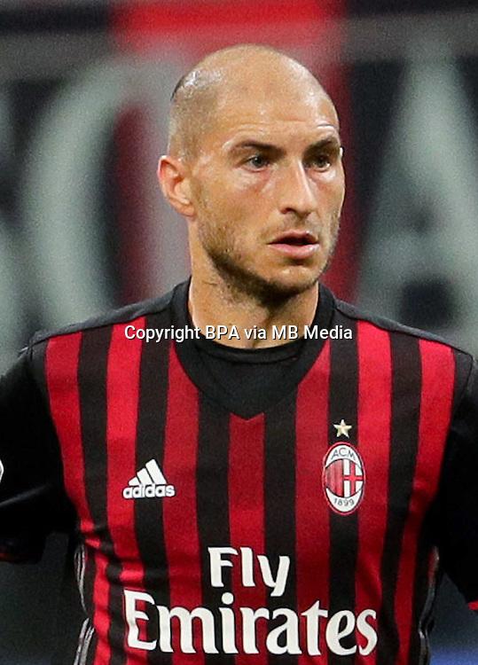 Italian League Serie A -2016-2017 / <br /> ( AC Milan  ) - <br /> Gabriel Alejandro Paletta &quot; Gabriel Paletta &quot;