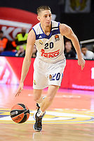 Real Madrid's Jaycee Carroll during Turkish Airlines Euroleague between Real Madrid and Brose Bamberg at Wizink Center in Madrid, Spain. December 20, 2016. (ALTERPHOTOS/BorjaB.Hojas)