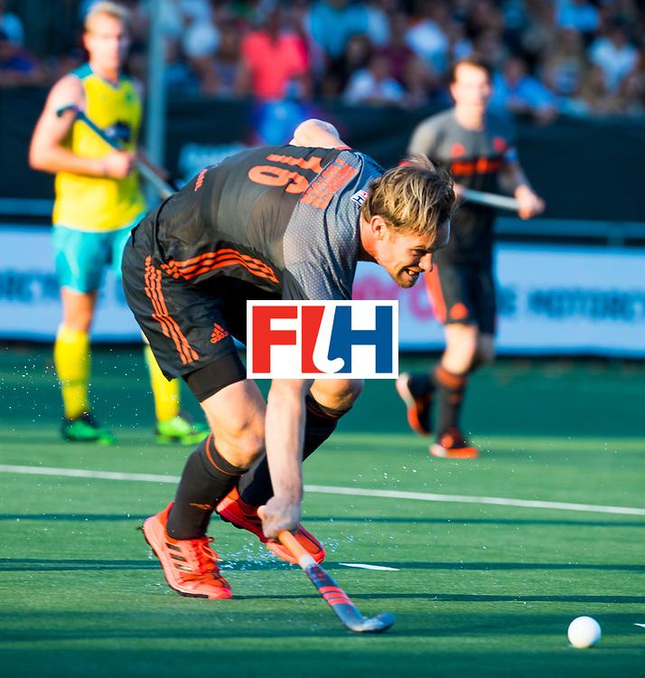 BREDA - Mirco Pruyser (Ned)   tijdens Nederland- Australie bij  de Hockey Champions Trophy. COPYRIGHT KOEN SUYK