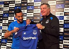 Everton - Theo Walcott Press Conference - 19  January 2018