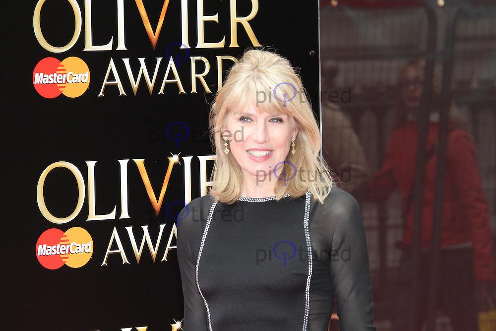 Selina Scott, The Laurence Olivier Awards, Royal Opera House London UK, 28 April 2013, (Photo by Richard Goldschmidt)