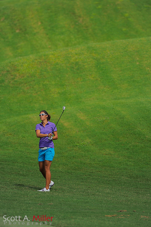 Samantha Richdale during the first round of the Symetra Tour Championship at LPGA International on Sept. 26, 2013 in Daytona Beach, Florida. <br /> <br /> <br /> ©2013 Scott A. Miller