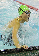 Iowa City West's Erica Hsu makes the turn in the 200 yard Individual Medley event at the Girls' High School State Swimming & Diving Championships at the Marshalltown YMCA/YWCA in Marshalltown on Saturday, November 9, 2013. Hsu placed eighth with a time of 2:11.51.