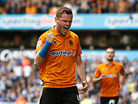 Football - The Championship- Wolverhampton Wanderers v Leicester City - Wolves' Richard Stearman celebrates the second goal at Molineux