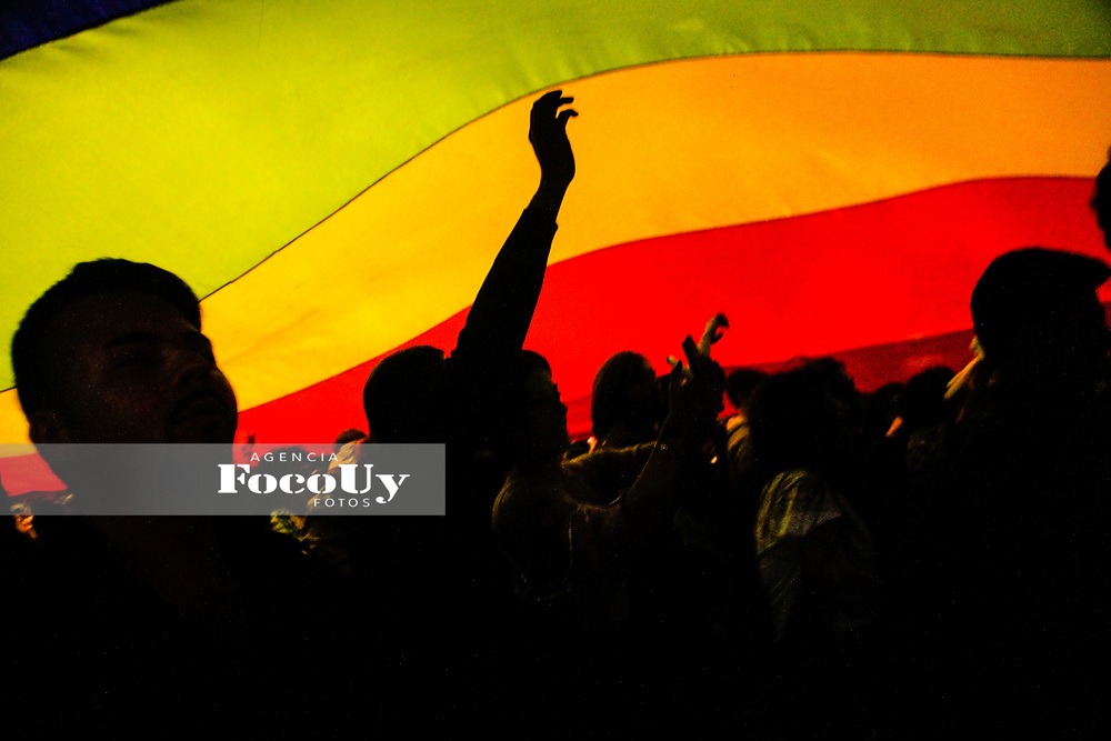 Montevideo, Uruguay, 29 de Setiembre de 2017<br /> Marcha de la diversidad LGTBI por la avenida 18 de Julio. <br /> <br /> Foto:  Gast&oacute;n Britos  / FocoUy