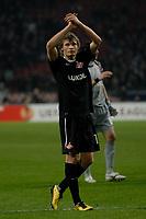Football - Europa League Round of 16 - Ajax v Spartak Moscow <br />Evgeni Makeev - Spartak Msocow.