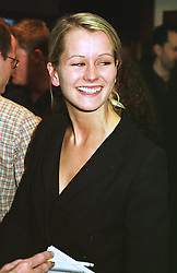 MISS EMMA PARKER BOWLES at a party in London on 8th April 1999.MPW 37