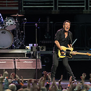 WASHINGTON, DC - January 29th, 2016 - Max Weinberg and Bruce Springsteen perform at the Verizon Center during Springsteen's The River 2016 Tour. Springsteen and the E Street Band are performing the seminal 1980 album in full on the tour. (Photo by Kyle Gustafson / For The Washington Post)