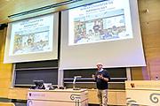 20170818 Kristiansand, <br /> <br /> Universitetet i Agder<br /> <br /> Informasjonsm&oslash;te store auditoriumet p&aring; Campus Kristiansand for Institutt for informasjonssystemer<br /> <br /> Foto: Kjell Inge S&oslash;reide