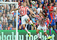 Football - 2016 / 2017 Premier League - Crystal Palace vs Stoke City<br /> <br /> Ryan Shawcross of Stoke City at Selhurst Park<br /> <br /> <br /> Credit : Colorsport / Andrew Cowie