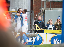 Lewis Travis of Blackburn Rovers celebrates after scoring his sides first goal - Mandatory by-line: Jack Phillips/JMP - 28/09/2019 - FOOTBALL - Ewood Park - Blackburn, England - Blackburn Rovers v Luton Town - English Football League Championship