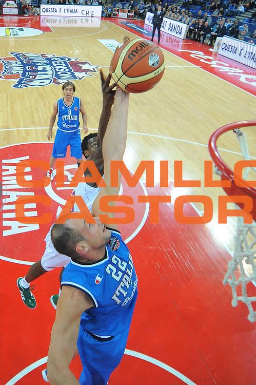 DESCRIZIONE : Pesaro Edison All Star Game 2012<br /> GIOCATORE : Marco Cusin<br /> CATEGORIA :  special rimbalzo<br /> SQUADRA : Italia Nazionale Maschile<br /> EVENTO : All Star Game 2012<br /> GARA : Italia All Star Team<br /> DATA : 11/03/2012 <br /> SPORT : Pallacanestro<br /> AUTORE : Agenzia Ciamillo-Castoria/M.Marchi<br /> Galleria : FIP Nazionali 2012<br /> Fotonotizia : Pesaro Edison All Star Game 2012<br /> Predefinita :