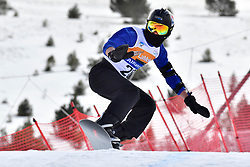 RIVERA Alex, SB-LL2, USA, Banked Slalom at the WPSB_2019 Para Snowboard World Cup, La Molina, Spain