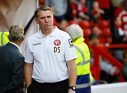 Walsall Manager Dean Smith - Mandatory byline: Jack Phillips / JMP - 07966386802 - 11/08/15 - FOOTBALL - The City Ground - Nottingham, Nottinghamshire - Nottingham Forest v Walsall - Football League Cup Round 1