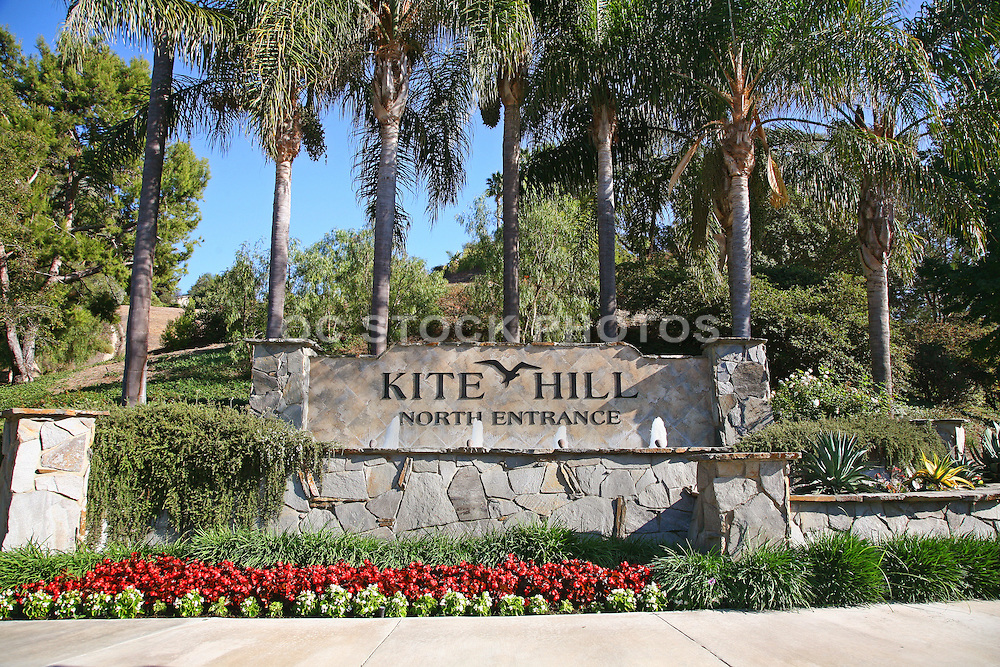 Kite Hill Monument Sign Laguna Niguel