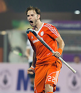 BHUBANESWAR  (INDIA) -   Germany vs Netherlands.  day 2 Hero Champions Trophy Hockey.  Rogier Hofman has scored.