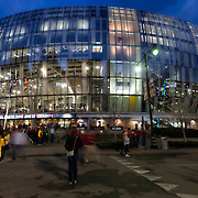Sprint Center Arena in downtown Kansas City, Missouri during the 2015 NCAA Big 12 Basketball Tournament