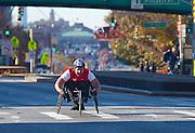 Handicapped racer. NYC Marathon, 2010.