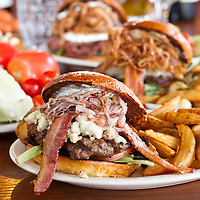 Bacon Burger, Menu Photography, Food Photography, Tucson