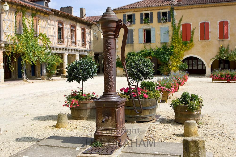 Water pump, Labastide d'Armagnac, France
