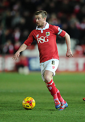 Bristol City's Wade Elliott  - Photo mandatory by-line: Joe Meredith/JMP - Mobile: 07966 386802 - 10/02/2015 - SPORT - Football - Bristol - Ashton Gate - Bristol City v Port Vale - Sky Bet League One