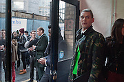 JAMES MAINE, I Love Fake: Issue 2 - launch party  to celebrate the second issue of biannual art, culture and style publication.  Protein, 18 Hewett Street, London, 4 April 2012